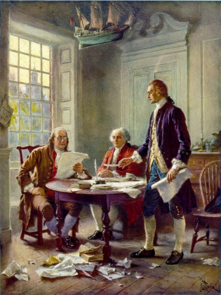 Ferris - Writing the Declaration of Independence