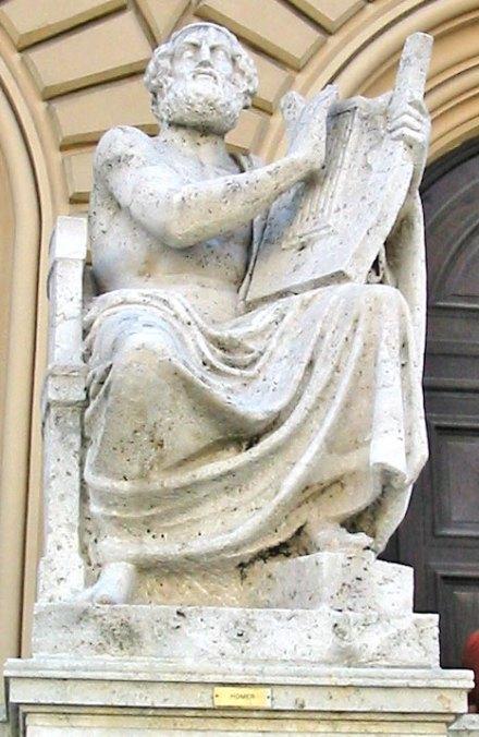 Homer statue